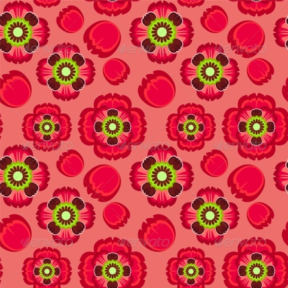 GraphicRiver Poppy Pattern 7490420