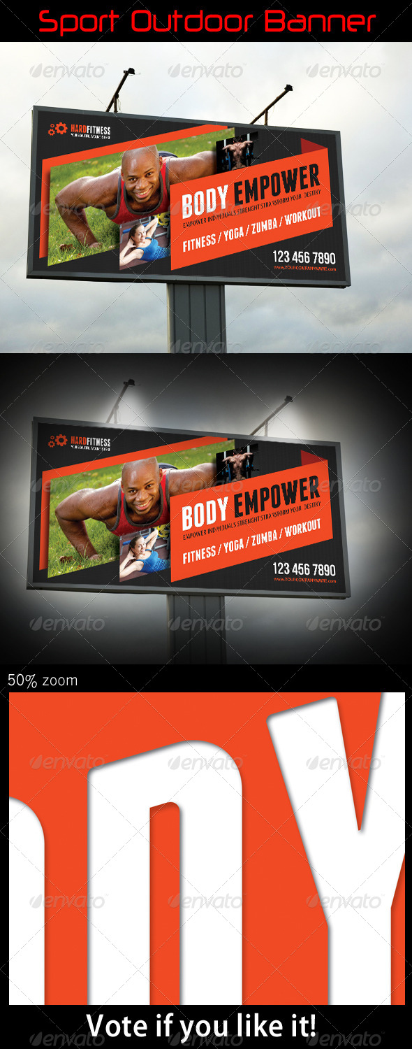 GraphicRiver Sport Outdoor Banner 08 7490444