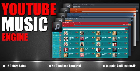 CodeCanyon Youtube Music Engine 7490975