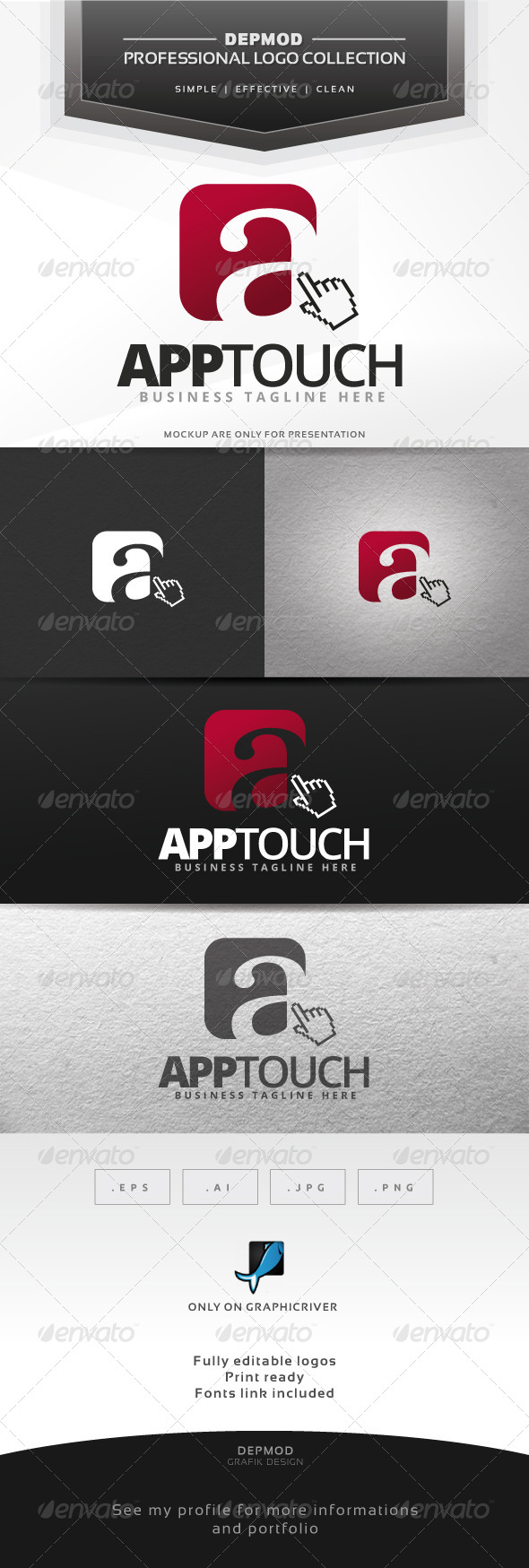 GraphicRiver App Touch Logo 7491998
