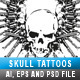 Skull Tattoos 02 - GraphicRiver Item for Sale