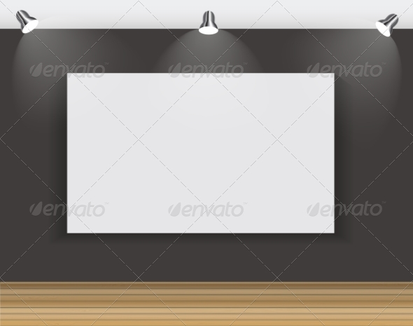 GraphicRiver Frame on Wall for Your Text and Images 7492396