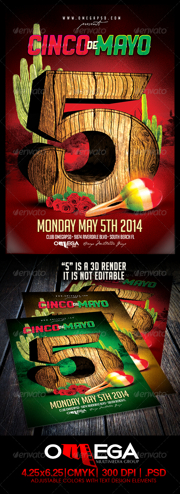 GraphicRiver Cinco De Mayo 2014 7492860