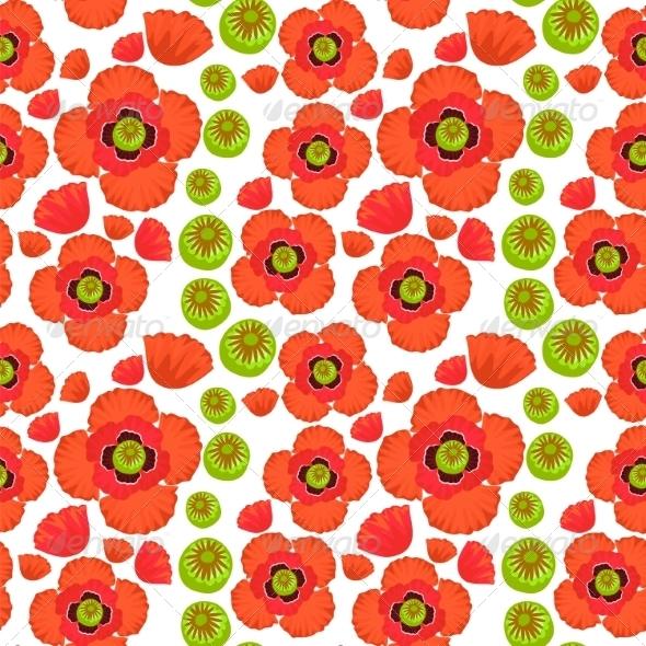 GraphicRiver Poppy Pattern 7493062