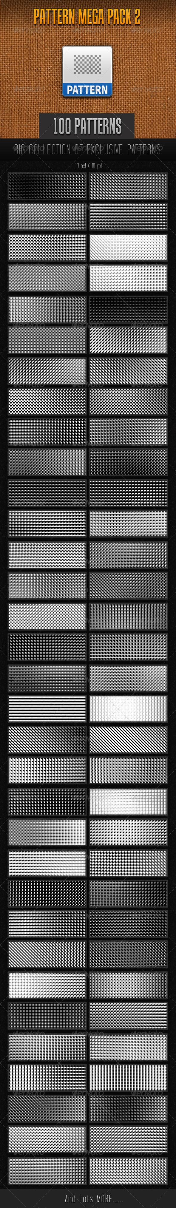 GraphicRiver 100 Mini Pattern Collection 2 7493092