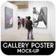 Gallery Poster Mock-Up - GraphicRiver Item for Sale