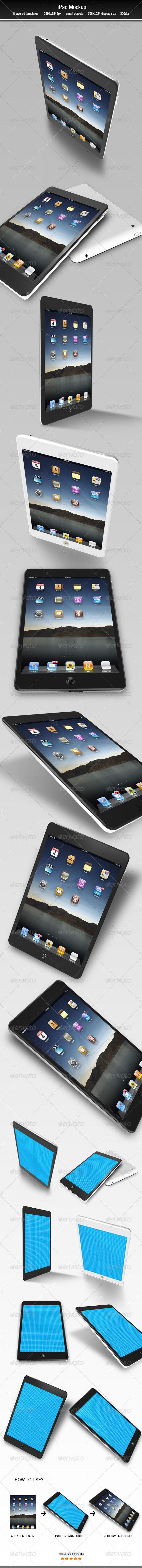 GraphicRiver iPad Mockup 7493463
