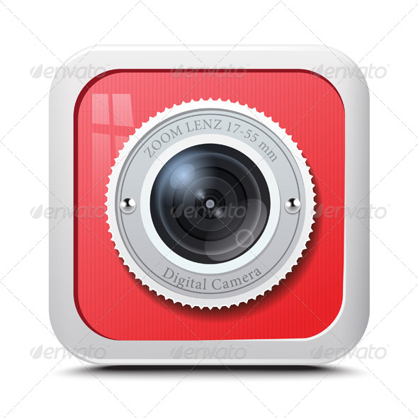 GraphicRiver Camera Icon 7493749