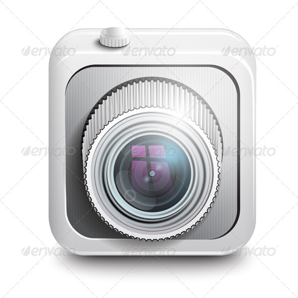 GraphicRiver Camera Icon 7493861
