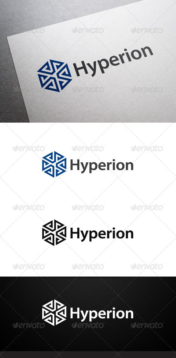GraphicRiver Hyperion Logo 7494197