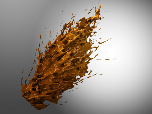 3DOcean Abstract Liquid 4 7494220