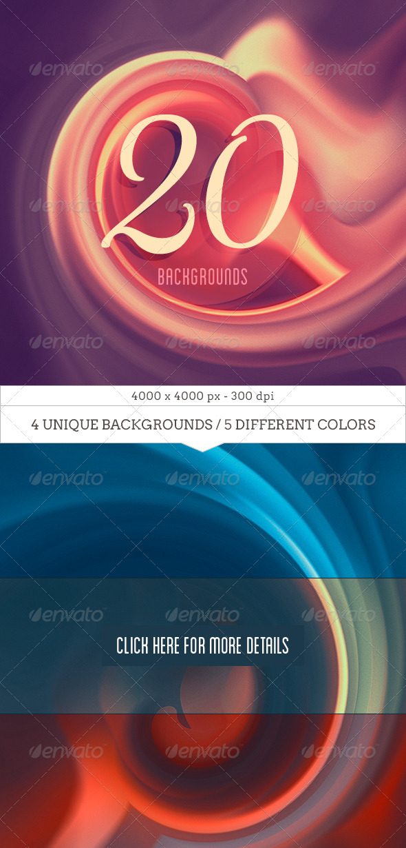 20 Dreamy Backgrounds V.01