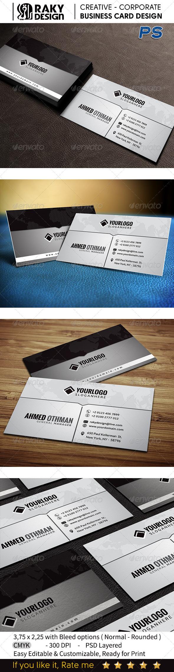 GraphicRiver Creative Business Card V08 7495465