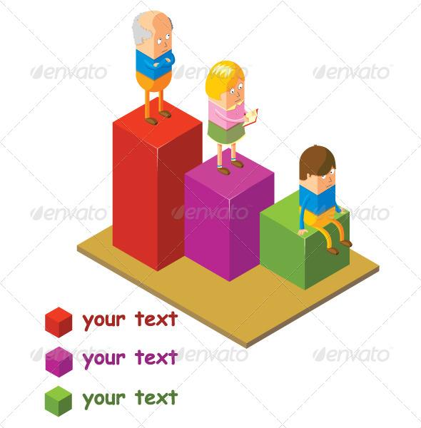 GraphicRiver Human Chart 7496362