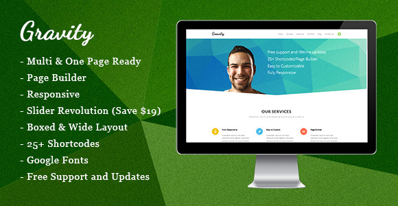 Gravity - Creative Multi Purpose Theme