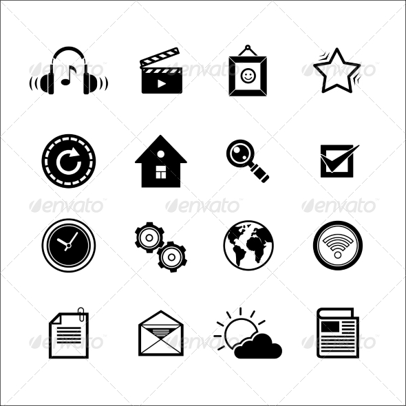 GraphicRiver Mobile Social Media Icons 7496980