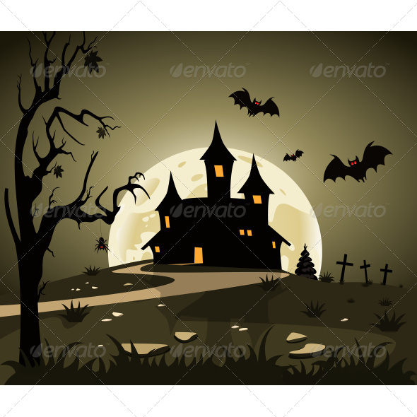 GraphicRiver Halloween Theme From Castle 7497014