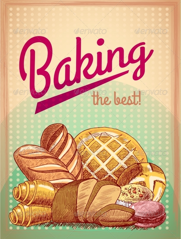 GraphicRiver Pastry Poster 7497142
