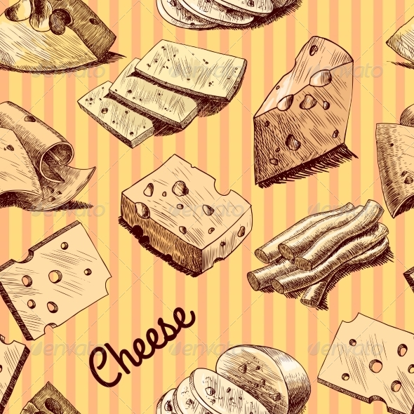 GraphicRiver Cheese Pattern 7497144