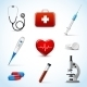 Realistic Medical Icons - GraphicRiver Item for Sale