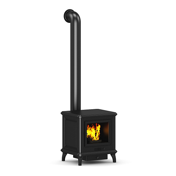 3DOcean Classic Metal Fireplace 7497164