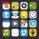 Mobile Applications Icons - GraphicRiver Item for Sale