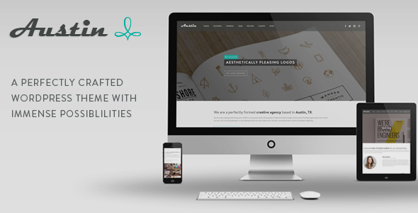 ThemeForest Austin Multi-Purpose Design Agency WP Theme 7497588