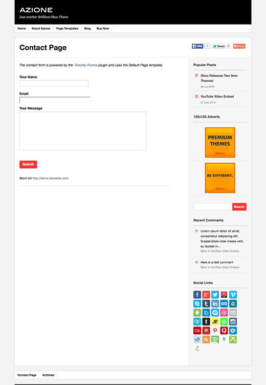Azione - WordPress Video Blogging Theme