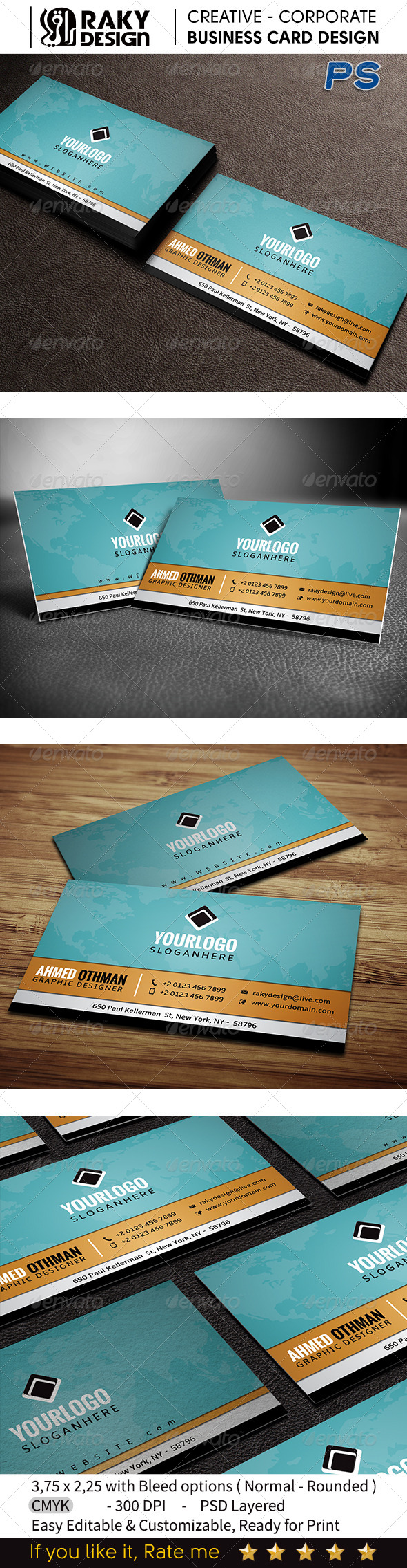 GraphicRiver Creative Business Card V11 7497979