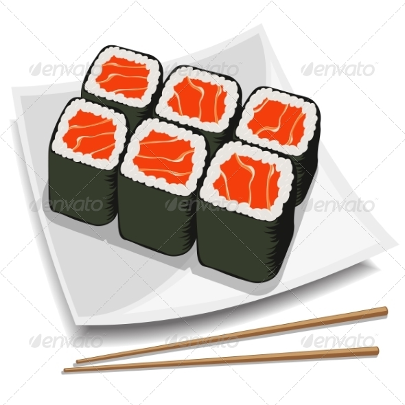 GraphicRiver Sushi 7498639