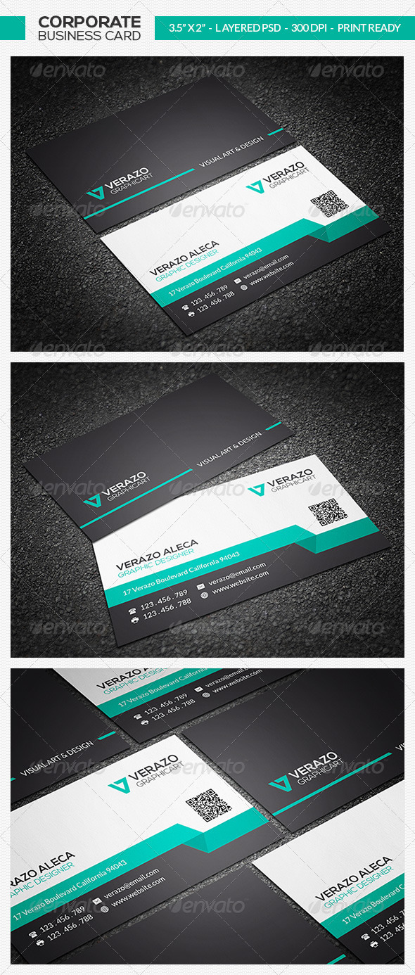 GraphicRiver Corporate Business Card 26 7498770