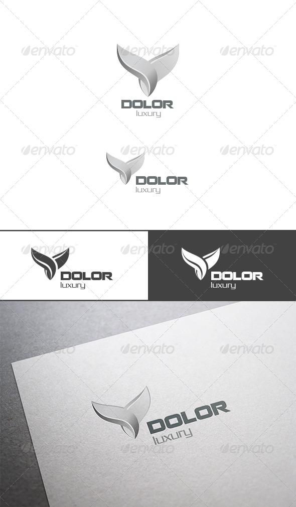 GraphicRiver Silver Bird Logo Abstract 7498881