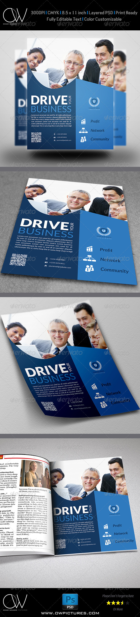 GraphicRiver Corporate Flyer Template Vol.10 7498882
