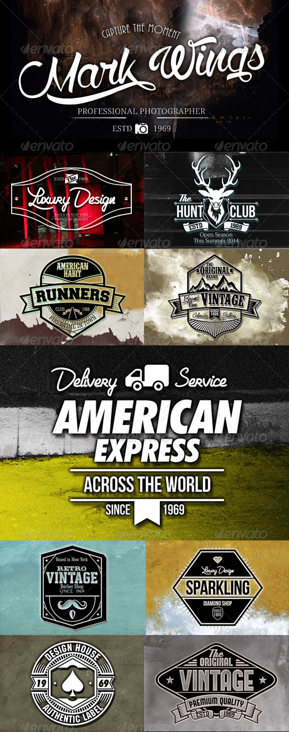 GraphicRiver The Badges Volume 2 7493041