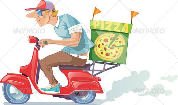 GraphicRiver Pizza Delivery 7499104