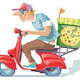 Pizza Delivery - GraphicRiver Item for Sale