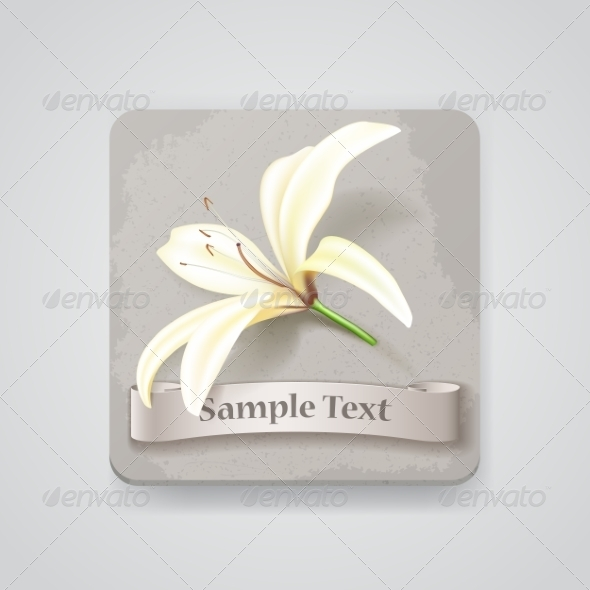 GraphicRiver Flower Icon 7499130