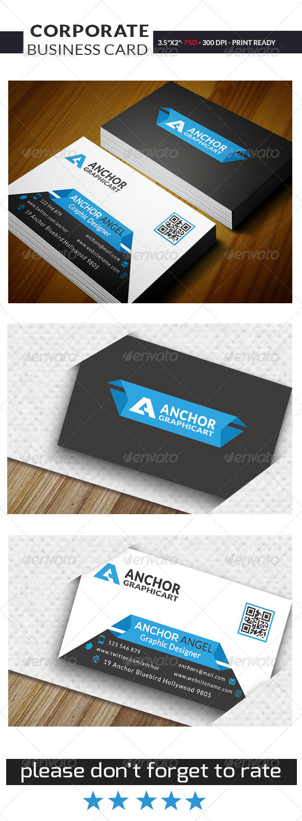 GraphicRiver Corporate Business Card 0012 7499133