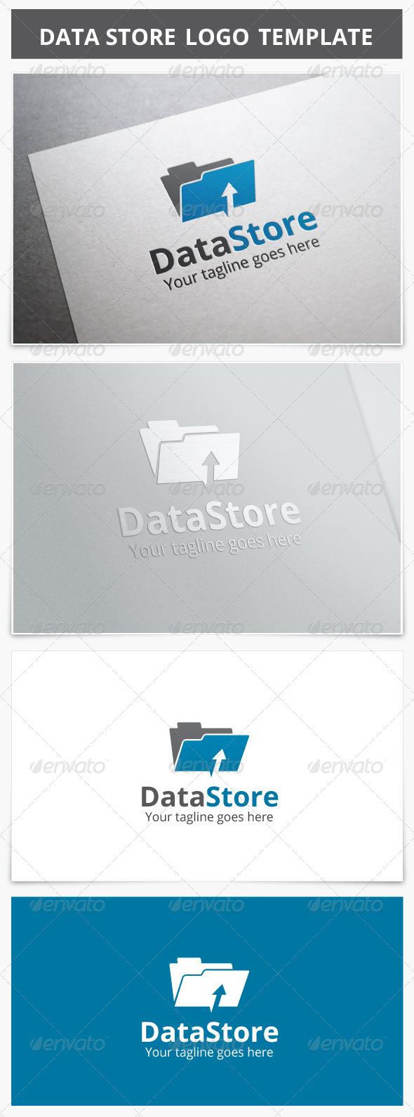 GraphicRiver Data Store Logo 7499216