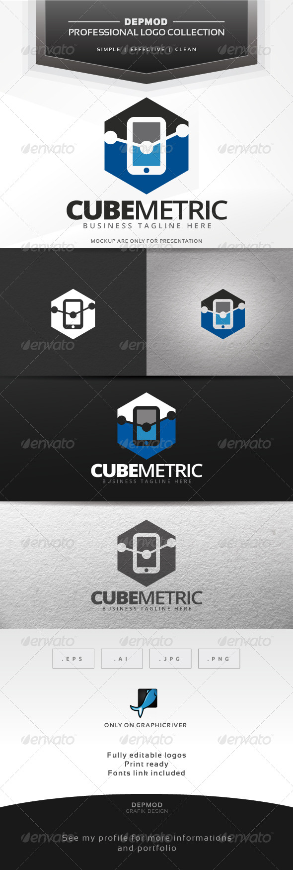 Cube Metric Logo