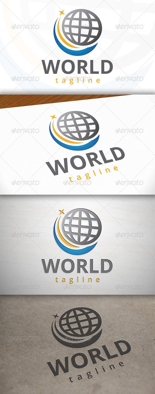GraphicRiver World Travel Logo 7499304