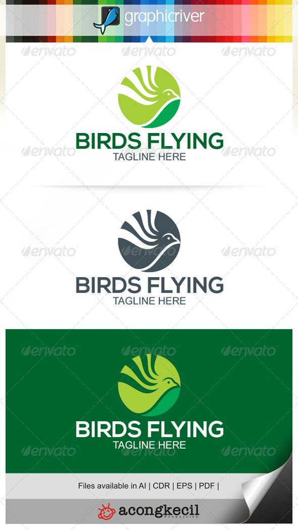 GraphicRiver Birds Flying V.4 7499386