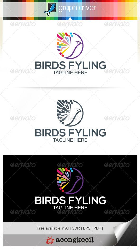GraphicRiver Birds Flying V.5 7499446