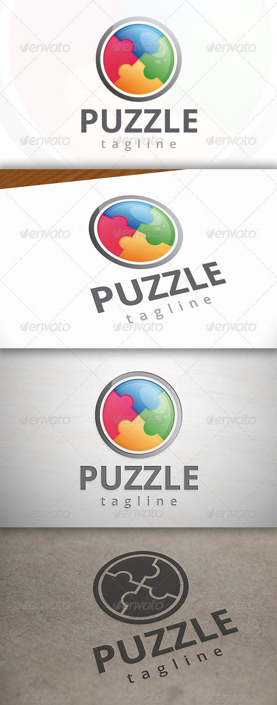 GraphicRiver Puzzle Logo 7499660