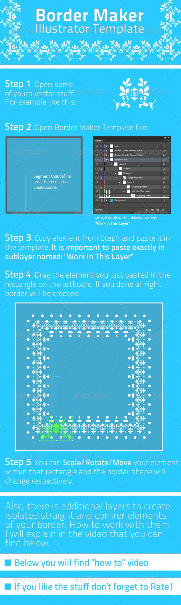 GraphicRiver Border Maker Template 7499950