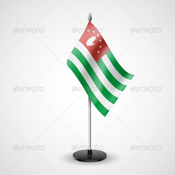 GraphicRiver Table Flag of Abkhazia 7500001