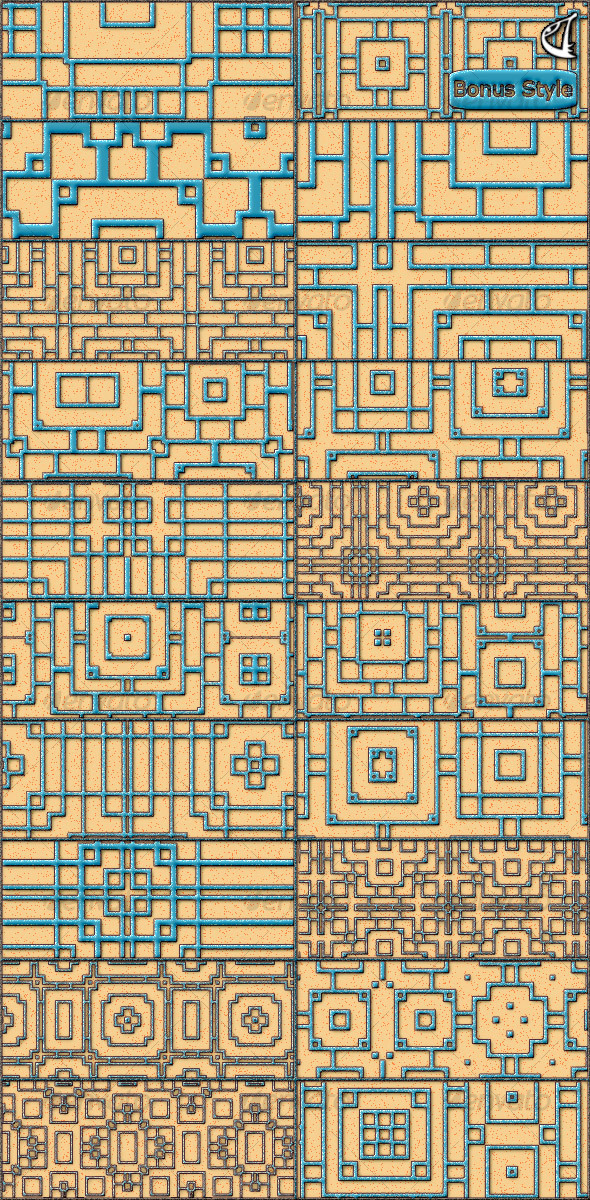 GraphicRiver Deskar-Patterns-01 31835