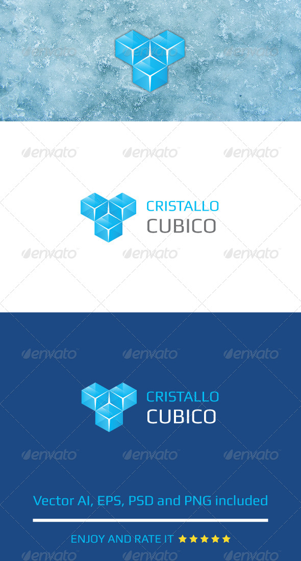 GraphicRiver Cristallo Cubico 7500131