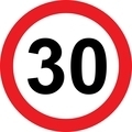 30 speed limitation road sign - PhotoDune Item for Sale