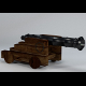 Low Poly Naval Cannon (UV textured; Game Asset) - 3DOcean Item for Sale